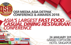 QSR Media Asia Detpak Conference and Awards tickets now sold out