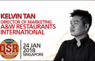 QSRs need to connect the digital experience curve between generations: Kelvin Tan of A&W Restaurants International