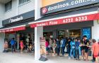 Domino\'s Singapore gives away 540 pizzas in 15 minutes