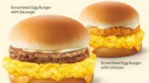 Social Media Wrap Up: McDonald's Singapore brings back scrambled egg burger range; Krispy Kreme Singapore's salted egg Original Glazed doughnuts; Sakae Sushi Malaysia's chicken wings bundle